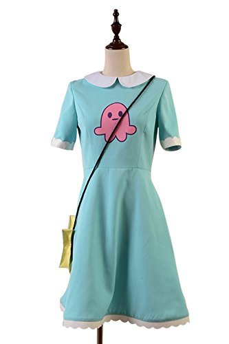 Sidnor star vs. the forces of evil Princess Star Butterfly Cosplay Costume Attire Outfit (Custom made)