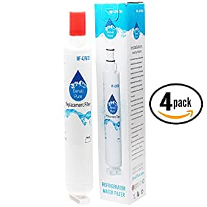 4-Pack Replacement Kenmore 10678219801 Refrigerator Water Filter - Compatible Kenmore 46-9915 Fridge Water Filter Cartridge