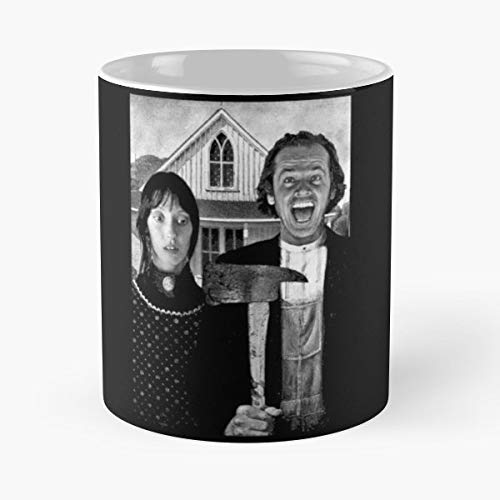 The Shining Stanley Kubrick Horror Jack Nicholson - Coffee Mugs,handmade Funny 11oz Mug Best Holidays Gifts For Men Women Friends.