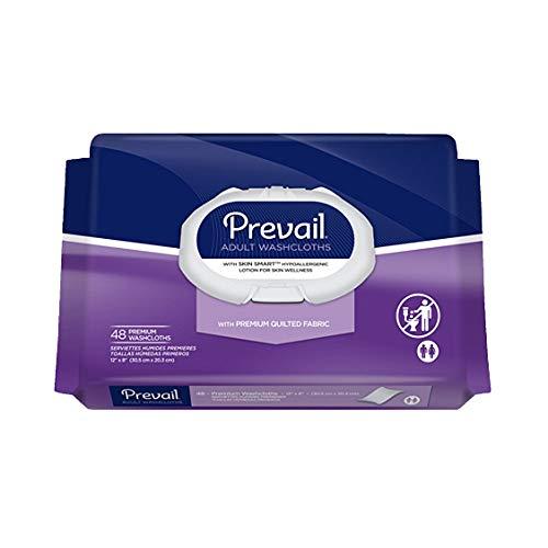 Prevail® Premium Cotton Washcloths - Case/576