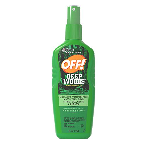 OFF! Deep Woods Sportsmen Insect Repellent III, 6 fl oz (Pack of (Deep Woods Aerosol)