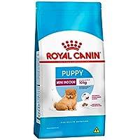 Ração Royal Canin Mini Indoor Junior Cães Filhotes 7,5Kg Royal Canin para Todas Todos os tamanhos de raça Filhotes - Sabor Outro