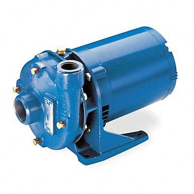 GOULDS PUMPS 2BF21512 Cast Iron Centrifugal Pump, 1-1/2 hp, 1 Phase, 115 VAC/230 VAC