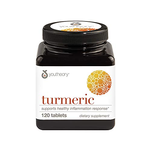 - Youtheory Turmeric Advanced With Black Pepper Bioperine, 120 Count