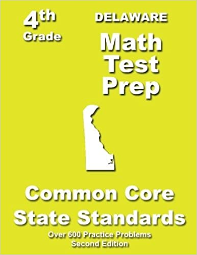 Book Delaware 4th Grade Math Test Prep: Common Core Learning Standards by Treasures Teachers' (2013-04-21)
