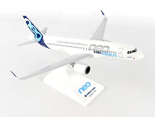Airbus A320 Model Airplane - Daron Worldwide Trading Skymarks Airbus A320NEO 1/150 Airplane Model