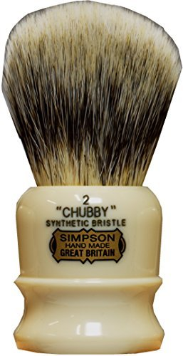 Simpsons Chubby 2 CH2 Synthetic Badger Shaving Brush