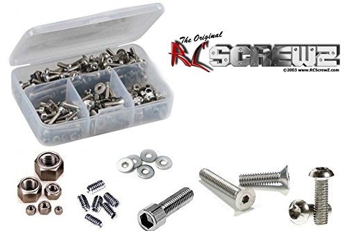 RCScrewZ HPI Super Nitro RS4 Stainless Steel Screw Kit #hpi009 Super Nitro Rs4