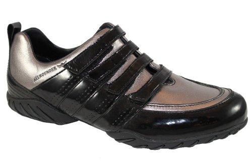 Scratch Cuir lina Allrounder Gris chaussure femme ac5Iq7B