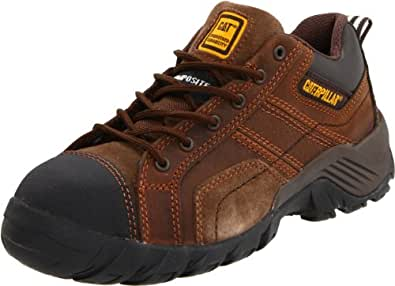 Caterpillar Women's Argon P90087 Work Shoe,Dark Brown,5 M US