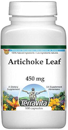 Artichoke Leaf - 450 mg (100 Capsules, ZIN: 510951) - 3 Pack