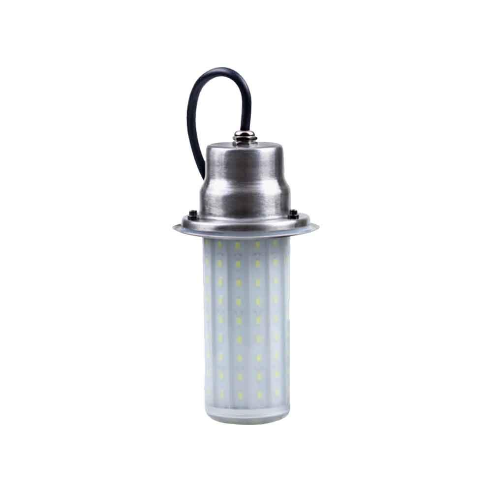 Underwater Light Fishing Lures Fish Finder Lamp Attracts Fish Prawns Krill (DC12V 50W 4A Grass Color Light)