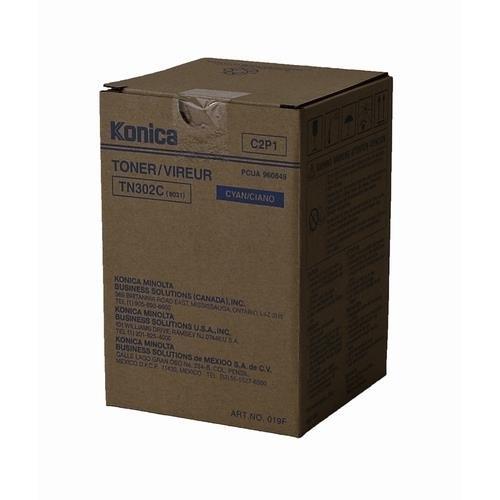 Konica Minolta 8031 OEM Cyan Toner Cartridge by Konica-Minolta