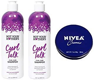 product image for Not Your Mother's 2 Pack Curl Talk Curl Care Shampoo 12 Oz.+ Travel Size Body Cream 1 Oz.