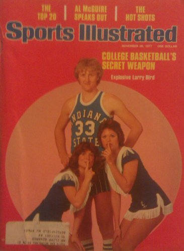 1977 Ncaa Basketball (Sports Illustrated November 28, 1977 - College Basketball's Secret Weapon, Explosive Larry Bird)