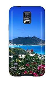 Jose de la Barra's Shop 9076632K66673378 For Galaxy S5 Tpu Phone Case Cover(great Bay Philipsburg)