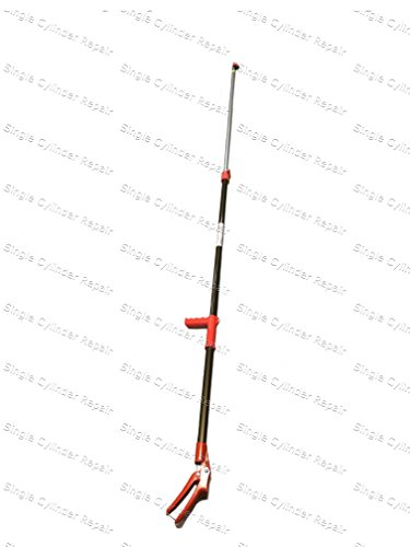 nobi telescopic long reach pruner with pruning saw extends 69 to 118 inches  made in japan