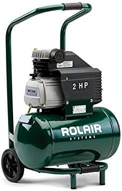 [해외]Rolair FC2002HBP6 2 HP Wheeled Compressor with Overload Protection and Manual Reset / Rolair FC2002HBP6 2 HP Wheeled Compressor with Overload Protection and Manual Reset