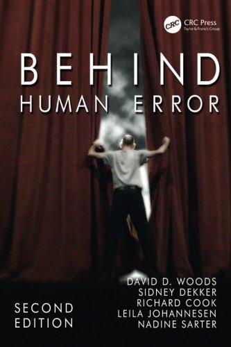 Behind Human Error
