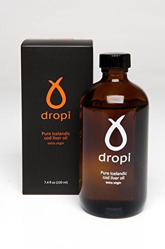 Dropi 220 ml Pure Icelandic Extra Virgin Cod Liver Oil by Dropi (Rosita Cod Liver Oil compare prices)