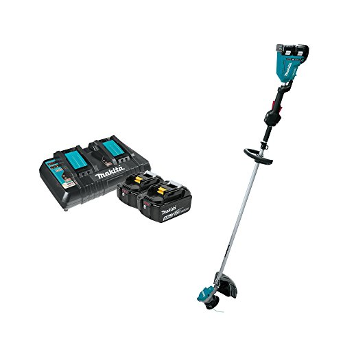 Makita 18 Volt X2 LXT Brushless Cordless Electric String Trimmer w/Batteries by Makita