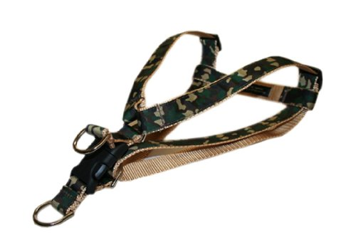 Picture of Sassy Dog Wear 15-21-Inch Camouflage Dog Harness, Small