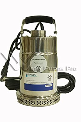 Goulds STS31M Submersible Sump Effluent Pump 1/3HP 115V 1 Phase No Switch