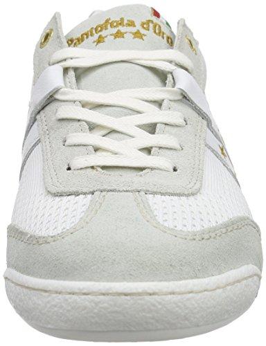 Pantofola d'Oro Ascoli Techknit - Zapatillas Hombre Blanco - Weiß (Bright White)