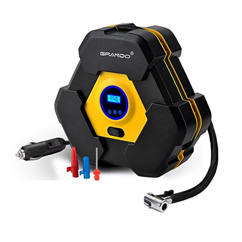 Portable Digital Display Auto Air Compressor Pump,DC 12V 150PSI for Vehicles,Tires Balls,Inflatable Objects by dstecho