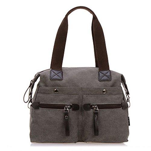 Womens Top canvas Handle Satchel Handbags Tote Purse Shoulder - Canada Kors