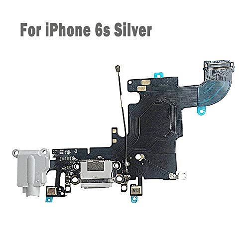 UTechZH USB Charging Port Headphone Jack Dock Connector W/Mic Flex Cable Cellular Antenna Replacement Part Compatible for iPhone 6s 4.7