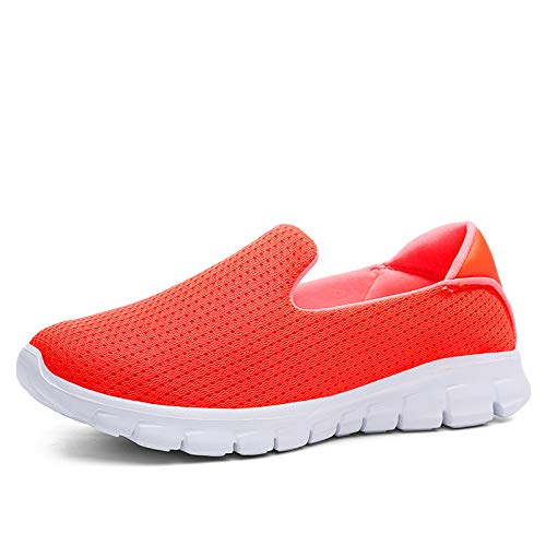 Shoes Round orange Toe On Sneaker Slip Fashion Casual Shoes Spring Summer Winter Shoes Women GUNAINDMX Loafers wgUFPXxqff