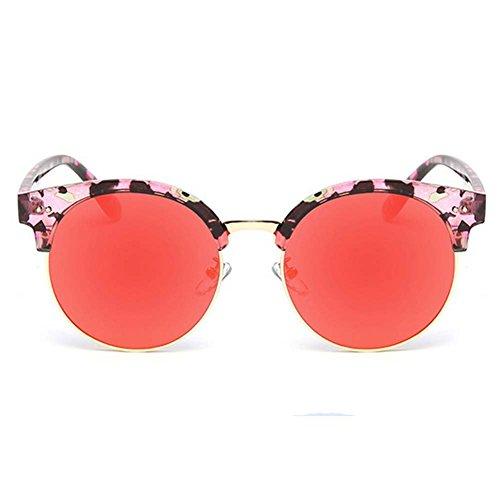 Mr.Right 2016 New ladies Fashion Korean Style Personality Unique Design Round - Style Morpheus Sunglasses