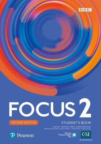 Focus 2e 2 Students Book with Basic PEP Pack: Amazon.es: Kay, Sue, Jones, Vaughan, Brayshaw, Daniel, Michalowski, Bartosz, Trapnell, Beata, Russell, Dean, Inglot, Marta: Libros en idiomas extranjeros