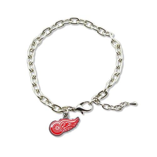 NHL Detroit Red Wings Logo Bracelet