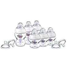 Tommee Tippee Closer to Nature Anti-Colic Starter Set, Clear