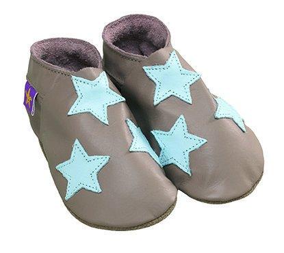 Zapatillas Star Topo azul Talla:0 a 6 meses