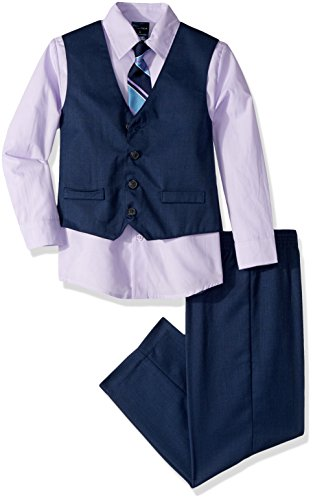 Nautica Dressy Vest Set, Dark Blueviolet, 6