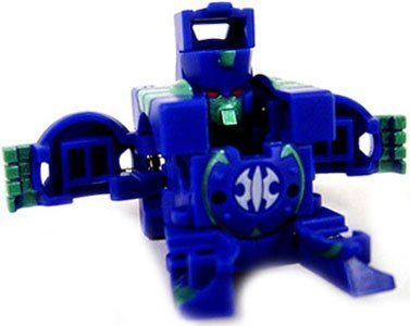 Bakugan Trap, Zoack (Aquos), Blue