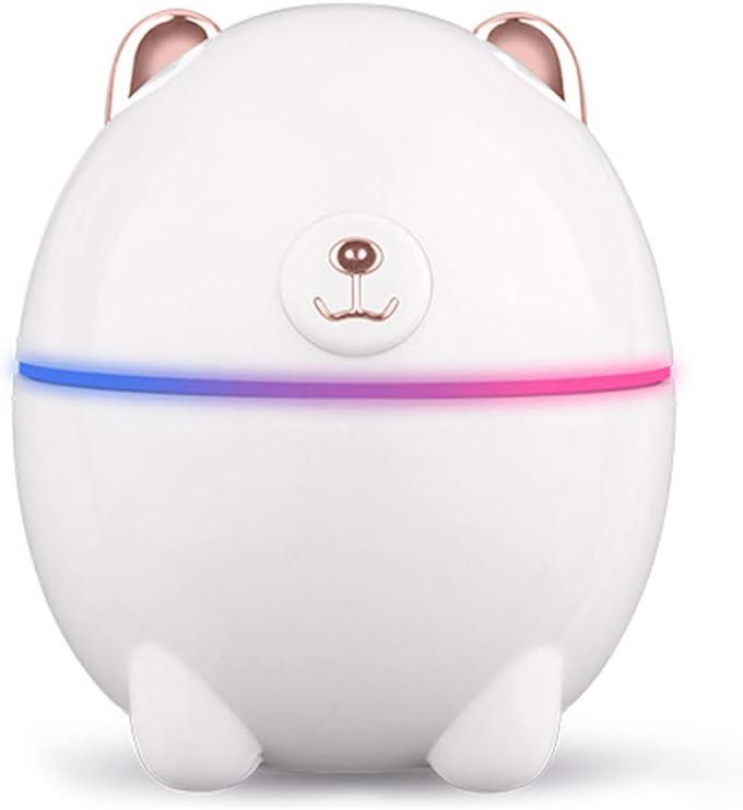 220ML Cute Bear Pattern Air Humidifier Mist Maker USB