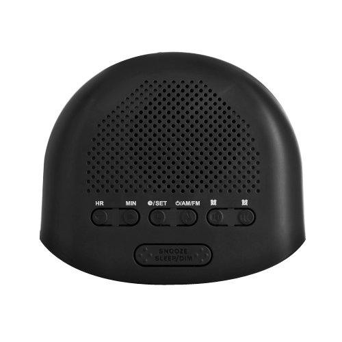 electrohome digital am fm clock radio w battery backup dual alarm snooze bl. Black Bedroom Furniture Sets. Home Design Ideas