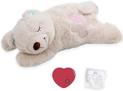 Pet Prime Dog Plush Toy Heartbeat Plush Bear Puppy HeartBeat Toy Dog Comfort Toy