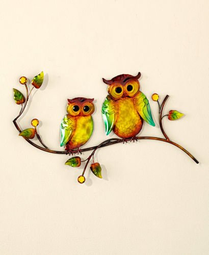 5 Pcs Bronze Owl Bathroom Collection Set Wall Art Toilet Tissue Holder & More Bath