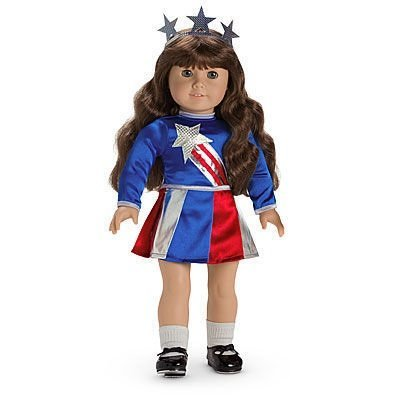 American Girl Doll Molly's Miss Victory Costume II]()