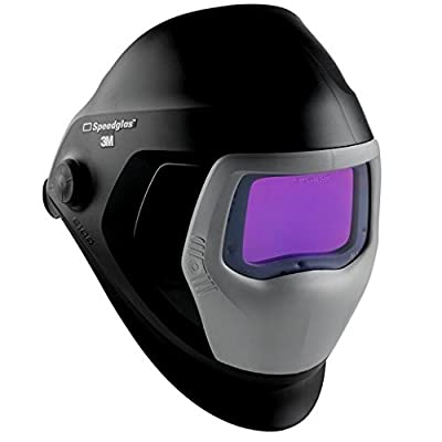 "3M Speedglas Welding Helmet 9100, 06-0100-30iSW, with Auto-Darkening Filter 9100XXi"""
