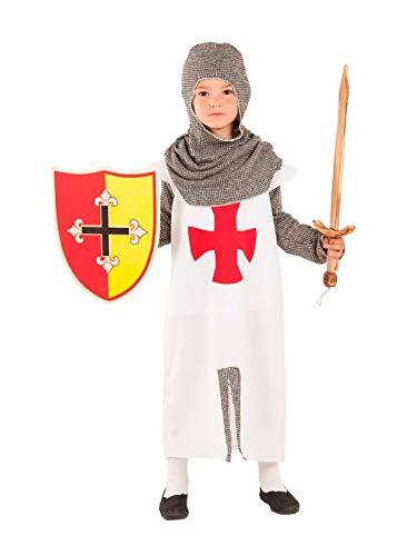 DISBACANAL Disfraz de artillero Medieval niño - -, 6 años: Amazon ...