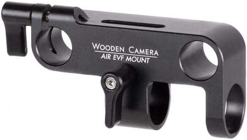 Wooden Camera AIR EVF Underslung Mount for 19mm Tube Clamp Under 15mm LW Rods