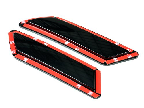 AutoTecknic Painted Front Bumper Reflectors - F30/ F31 3 Series (Black Sapphire Metallic 475)