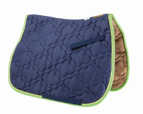 (Roma Ecole Cloud Quilt Pad Navy/Lime )