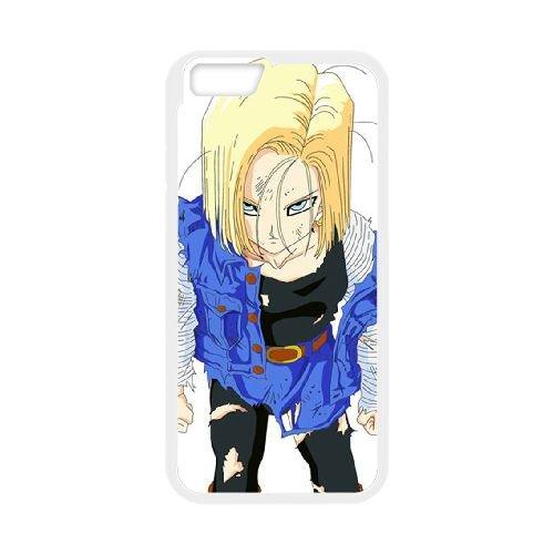 Dragon Ball Z 019 coque iPhone 6 Plus 5.5 Inch Housse Blanc téléphone portable couverture de cas coque EOKXLLNCD19963
